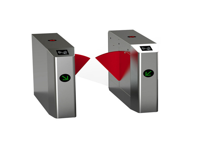 RFID system Metro railway subway Drop Arm Turnstile bi directional PU foam soft flap