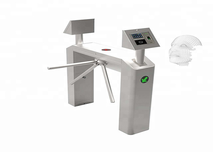 Biometric Drop Arm Tripod Turnstile Gate Metro Station Checkpoint Face Installation Module