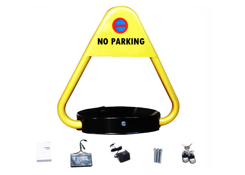 Waterproof Parking Space Locking Device Smart Remote Control 180 Degree Anti Collisio